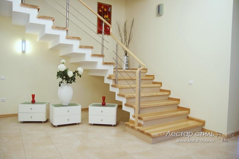 Отделка лестниц на второй этаж своими руками