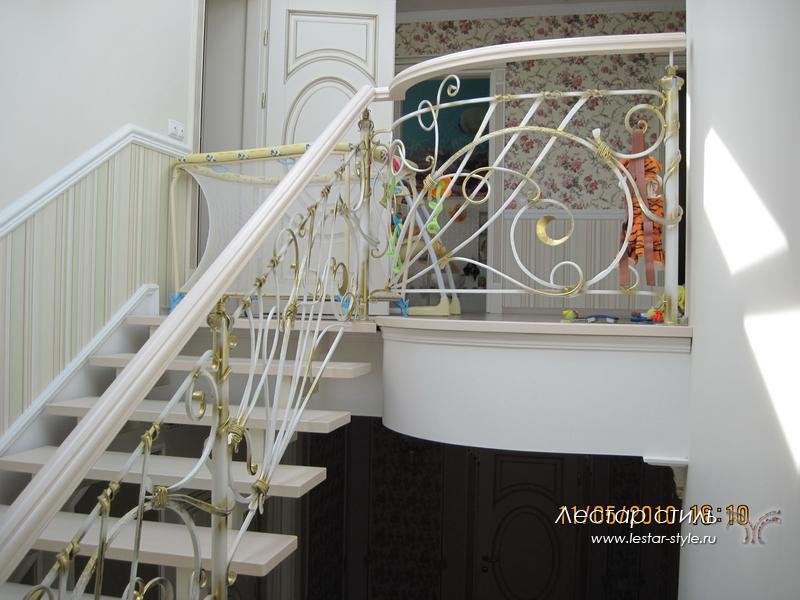 они сами кованые лестницы в стиле прованс фото первом