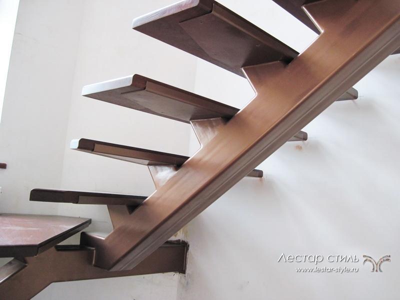 Лестницы на металлической тетиве своими руками