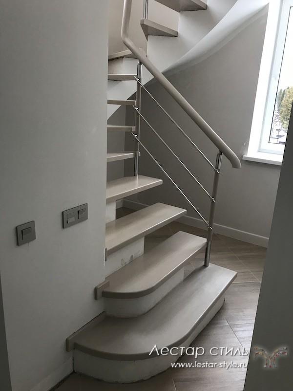 Отделка лестниц из бетона москва купить цемент м400 в мешках москва